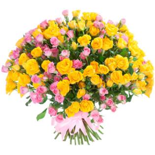 Розы Кустовые микс 1